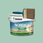 Краска для домов Nordica EKO Teknos Финляндия - foto 0
