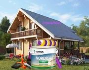 Краска для домов Nordica EKO Teknos Финляндия - foto 2