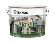 Краска для домов Akrylin Teknos Финляндия - foto 0