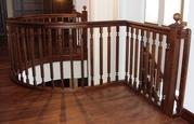 Изготовление лестниц из ценных пород дерева. - foto 1