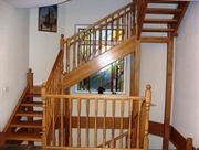 Изготовление лестниц из ценных пород дерева. - foto 4