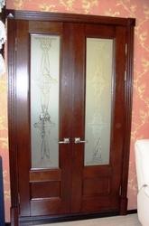 Изготовление дверей из массива дерева. - foto 1