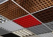 Подвесной потолок грильято,  реечный потолок и кассетный потолок - foto 1