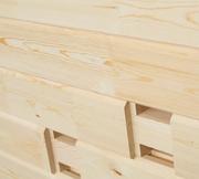 Клееный брус из Алтайской сосны - Финский профиль - foto 0