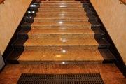 Изготовление лестниц из натурального и искусственного камня. Облицовка - foto 0