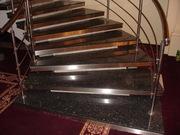 Изготовление лестниц из натурального и искусственного камня. Облицовка - foto 3