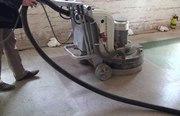 Шлифовка старого бетонного пола и обеспыливание - foto 0