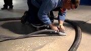 Шлифовка старого бетонного пола и обеспыливание - foto 1