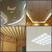 Подвесные потолки,  Строительная пленка,  Строительная теплоизоляция. - foto 0