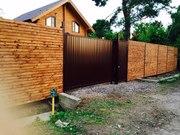 Откатные ворота и заборы под ключ в СПб - foto 1