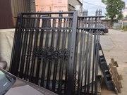 Откатные ворота и заборы под ключ в СПб - foto 2