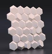 Гипсовые 3D панели для внутренней отделки стен. - foto 0
